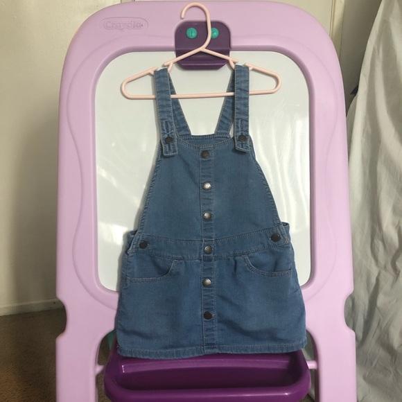 OshKosh B'gosh Other - Toddler girl overall dress 💙